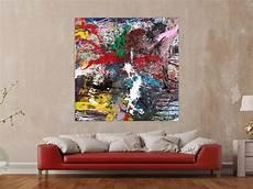 moderne bilder auf leinwand hochwertige kunst auf leinwand action painting gem 228 lde auf