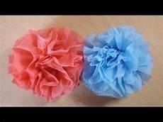 blumen aus servietten basteln bastelanleitung blumen basteln aus servietten