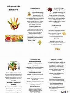 alimentaci 243 n saludable triptico