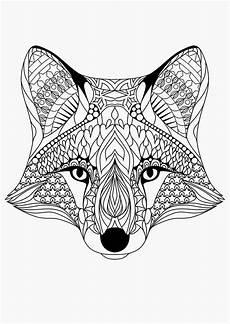 Malvorlagen Erwachsene Tiere American Hippie Coloring Pages Fox Malvorlagen