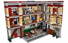 our look inside the lego ghostbusters firehouse hq