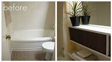 luck and bliss a 12 rental bathroom makeover again