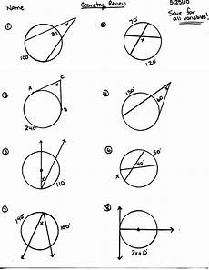 geometry circle worksheets 661 honors geometry 2015 2016 mr calise s math website