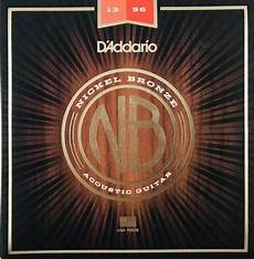 D Addario Nickel Bronze Guitar Strings Banjo Ben Clark