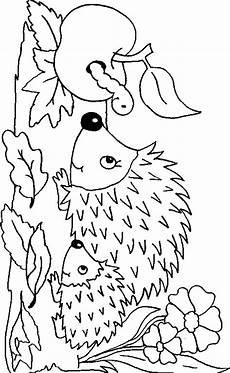 Malvorlagen Herbst Malvorlagen Herbst Igel Ausmalbilder F 252 R Kinder Igel