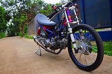 Modifikasi Motor R New by Modifikasi Yamaha New R Jadi Motor Drag Racing