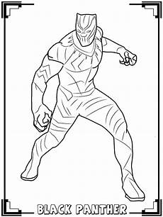 black panther black panther coloring pages