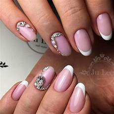 pink nails best variants of art designs