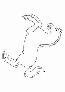 Malvorlage Steigendes Pferd Malvorlage Steigendes Pferd Ausmalbild 9872
