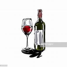 Le Aus Weinflasche - weinflasche vektorgrafiken und illustrationen getty images