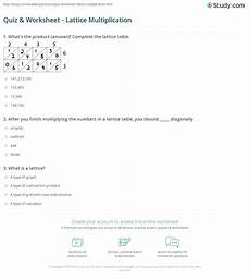 activity worksheets 20294 worksheet lattice multiplication activities