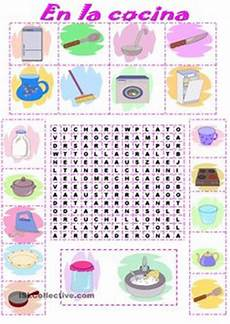 free printable kitchen themed puzzle and activity pages for children to enjoy make kitchen a