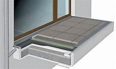 balkon gefälle vorschrift entw 228 sserung balkonen passende drainagematte als