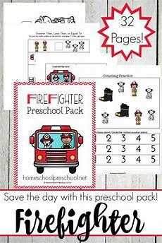 free firefighter preschool printable learning free homeschool deals