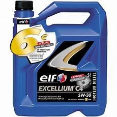 huile moteur excellium c4 essence et diesel 5w30 5l