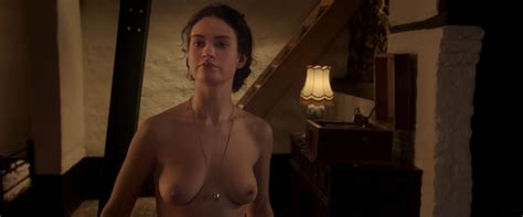 Lily James Bikini