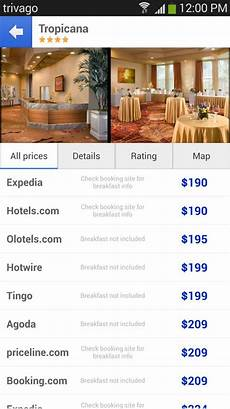 trivago the hotel search screenshot