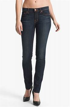 j brand stretch denim vintage in blue