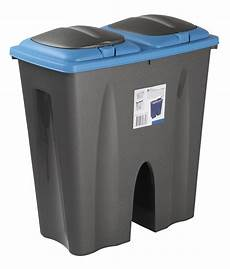 Recycle Kitchen Electronics by Recycling Waste Bin Duo Rubbish Plastic Cardboard