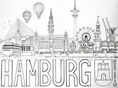 Malvorlagen Zum Drucken Hamburg Hamburg Coloring Page Ausmalbild Ausmalbilder