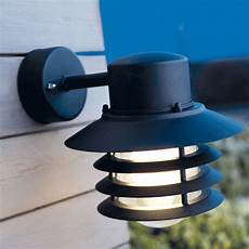 nordlux vejers outdoor hanging wall light black eames lighting