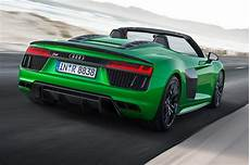 the hulk goes new audi r8 spyder v10 plus revealed car magazine