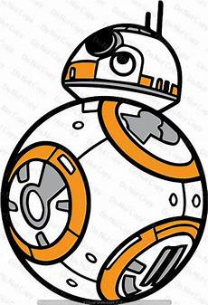 star wars bb8 svg cut file instant download cricut silhouette etsy