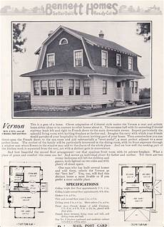 dutch colonial revival house plans dutch colonial revival 1922 vernon by bennett homes
