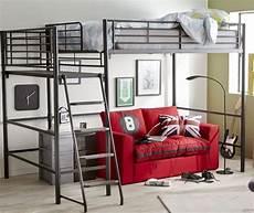 un lit mezzanine pour gagner de l espace