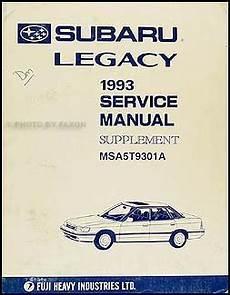 car service manuals pdf 1987 subaru justy electronic throttle control 1993 subaru legacy repair shop manual supplement original
