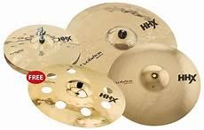 Sabian Hhx Evolution 5 Pc Cymbal Pack Brilliant Reverb