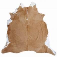 rinderfell teppich 15229 kuhfell teppich xl premium 225 x 210 cm caramel