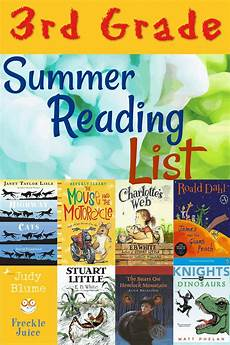 for you worksheets 18525 build a better reader summer reading list for grade 3 summer reading lists summer activities