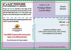 usps postcard mailing panel template postcard design and mailing free templates 4 215 6 5 215 7 6