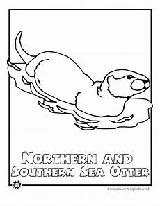 endangered animals coloring pages 16966 endangered sea otter woo jr activities
