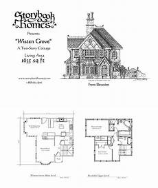 fairy tale cottage house plans unique storybook homes floor plans new home plans design