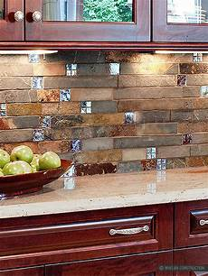 subway slate glass mosaic kitchen backsplash tile