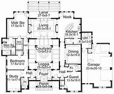 spanish style house plans with central courtyard plan 16813wg center courtyard beauty in 2019 house