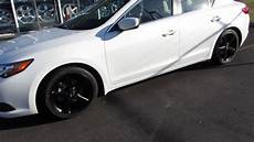 2014 acura ilx with 17 inch custom black rims tires