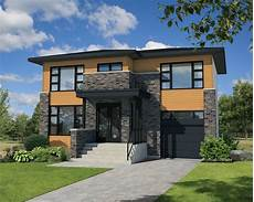modern house plans for narrow lots narrow lot contemporary house plan 80807pm