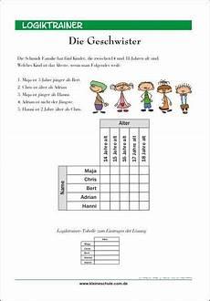 Kinder Malvorlagen Logicals Logiktrainer Denksportaufgabe F 252 R Kinder