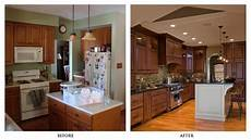 Kitchen Design Ideas Before And After by Kitchen Remodels Before And After Photos Cheap Kitchen