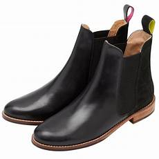 joules womens westbourne black leather chelsea boot