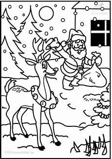 ausmalbild weihnachten rentier ausmalbild rentier rudolph