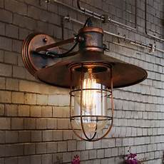 wall lighting rustic antique retro copper wall light vintage rustic led wall