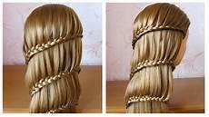 Coiffure Avec Tresse Tuto Coiffure Cheveux Longs Mi