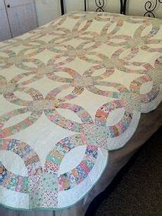 wedding ring quilt pattern free create 40 copies template bows for getting 80 bows if you using