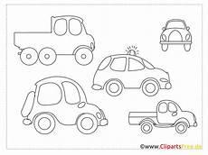 einfache ausmalbilder zum malen f 252 r kinder autos