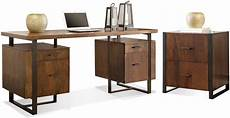 walnut home office furniture terra vista casual walnut double home office set from