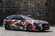 Audi Rs4 Avant City Camouflage Wrapped Idcustom Covering